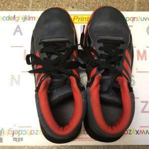 Adidas Boys High Top Sneakers, 5